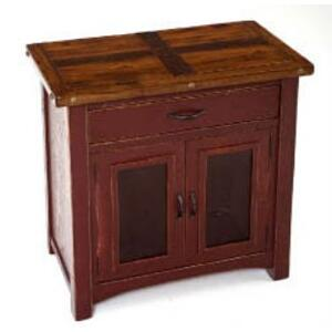 Westbrooke 2 Door 1 Drawer Commode