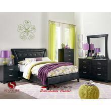 Standard  Furniture 50750 Vogue Black Bedroom set Houston Texas USA Aztec Furniture