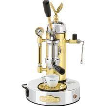 See Details - Elektra Micro Casa A Leva Espresso Machine, Chrome and Brass