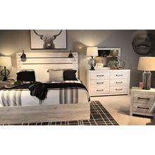Cambeck Queen Bedroom Set: Queen Bed, Nightstand, Dresser & Mirror
