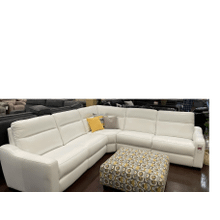 View Product - Power Leather Sectional