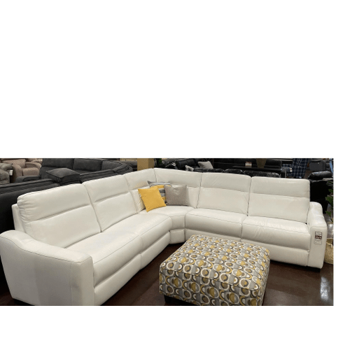 Cheers Brand - Power Leather Sectional