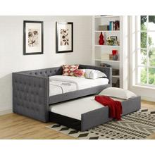 Trina Grey Daybed with Trundle