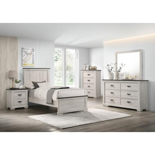 Crown Mark - Leighton Bed - Twin Size