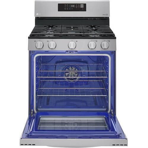 "30"" 5.8 CU. FT. Gas Convection Range with 5 Sealed Burners"