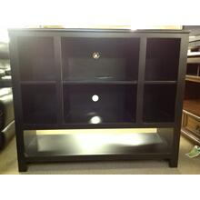 Black TV Cart