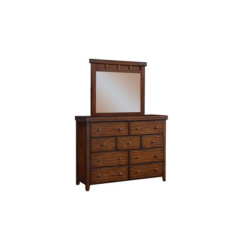 Mango 9-Drawer Dresser