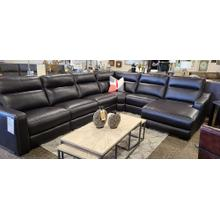 See Details - Reclining Sectional with Reclining Chaise