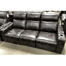 HIGHLANDER POWER HEAD REST AND POWER RECLINING SOFA Product Image