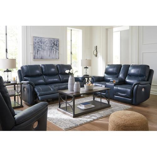 Ashley Furniture - 3-PC Powered Reclining Sofa, Loveseat & Recliner w/Adjustable Headrest & Lumbar