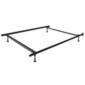 Mantua Twin XL Deluxe Insta-Lock Bed Frame with Glides