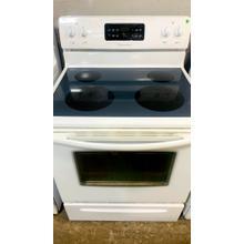 See Details - USED- Electric Free-Standing Range Cooking- E30WHGLAS-U  SERIAL #76