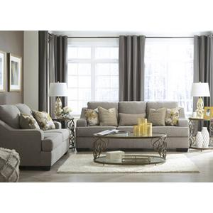 Mandee- Pewter Sofa and Loveseat