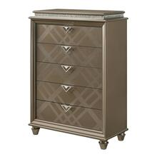 View Product - Cristal 5 Drawer Chest