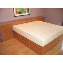 Shaker Style Double High Chestbed with Custom Headboard