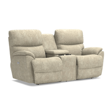 Trouper Power Full Reclining Loveseat with Center Console