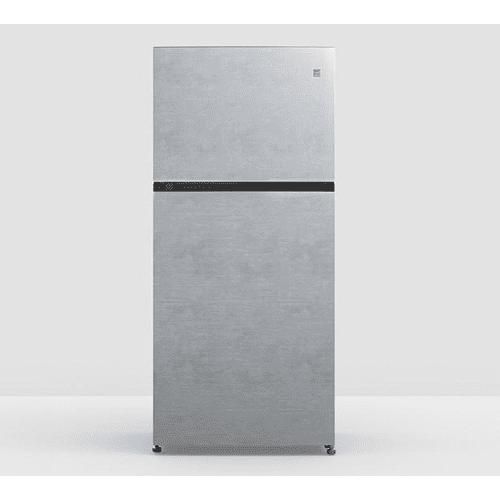 Element - Element Appliance Element 18 CF Top Mount Refrigerator In Stainless Steel - Glass Shelving