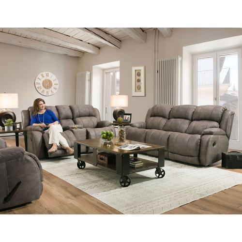 177-30-17  Reclining Sofa and Loveseat, Denali Grey