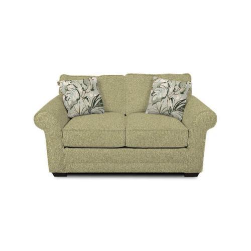 Brantley Loveseat 5636 Fabric Color: Cornell Platinum