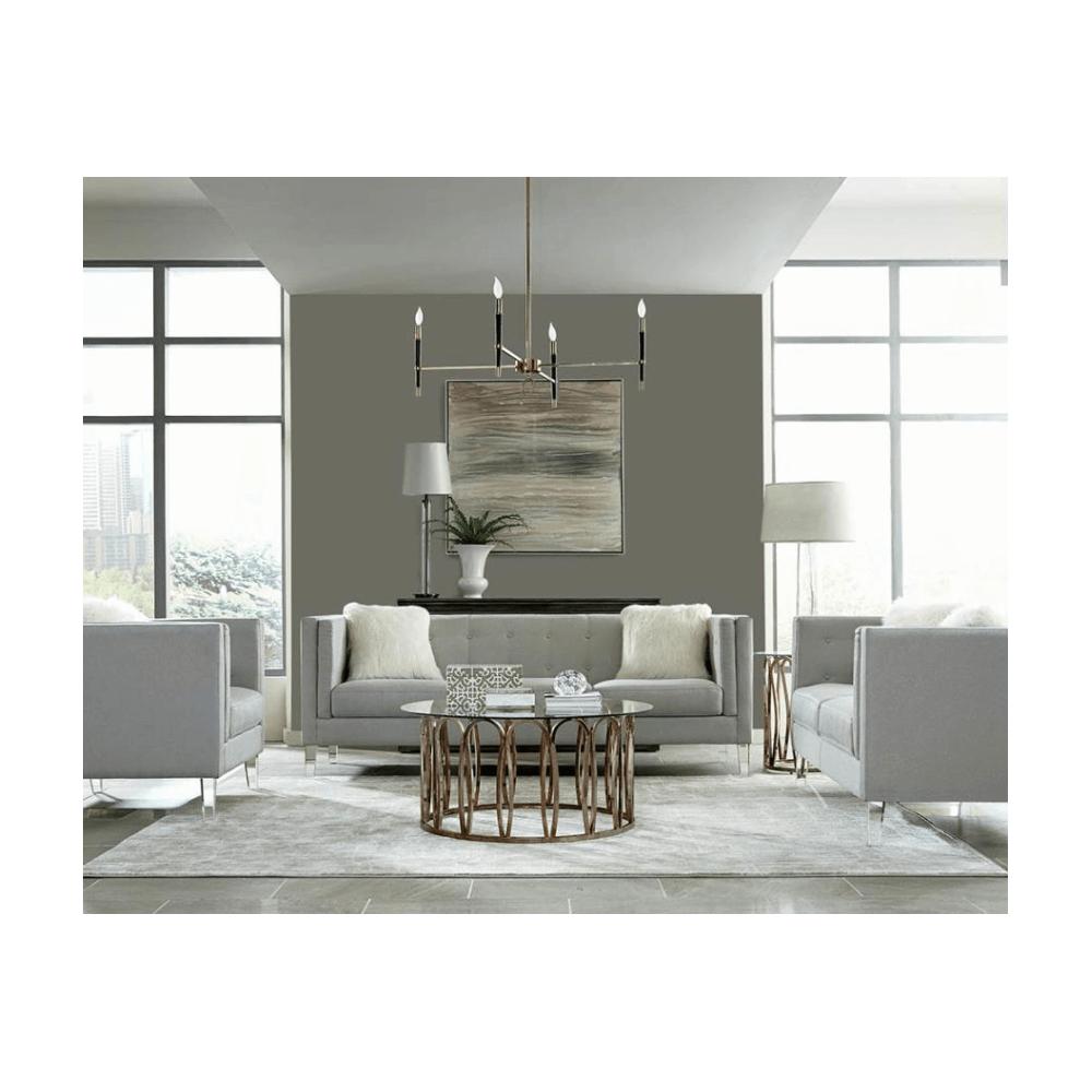 Hemet Sofa and Love Seat