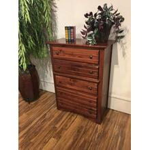 See Details - 5 Drawer Chest Cocoa