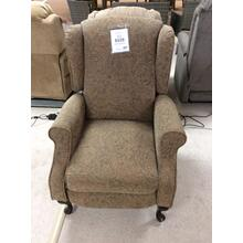 High Leg Recliner Push Back Chair 30 x 36 x 47H Hazel