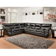 2 Piece Sectional Black