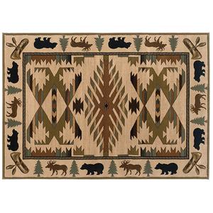 """Oriental Weavers Usa, Inc. - 7'8"""" X 10'10"""" HUDSON AREA RUG     (1071A,91425)"""