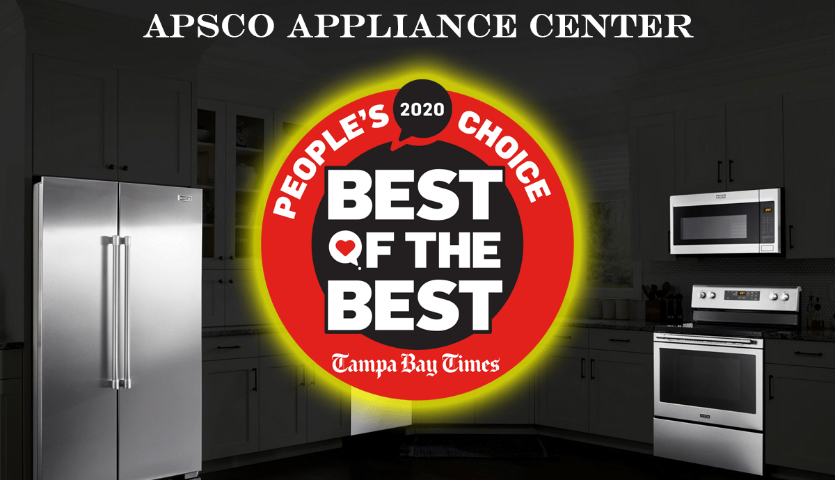 Home Appliances Service Parts In Largo Tampa Bay And St Petersburg Fl Apsco Appliance Center