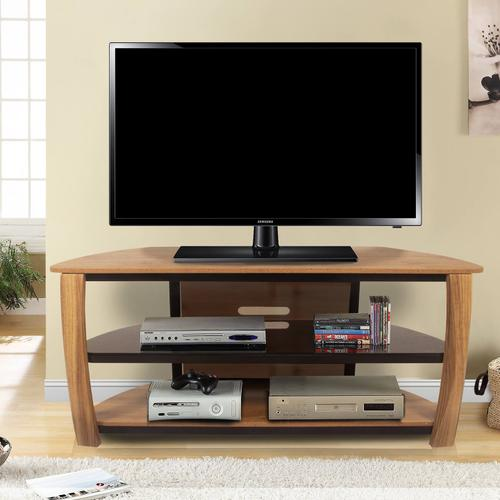 """See Details - Newport 55"""" TV Stand - Golden Maple"""
