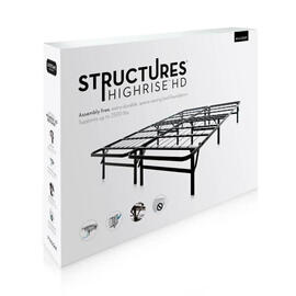 "Structures Highrise HD 13"" Bed Frame"
