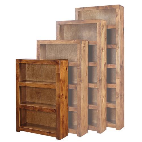 "Aspen Furniture - 48"" Fruitwood Bookcase"