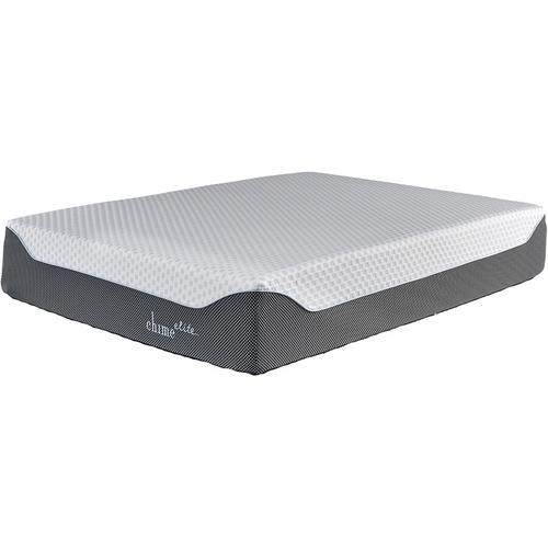 """William-2 Queen 14"""" Chime Elite Memory Foam Mattress with Adjustable Head & Foot Power Base"""