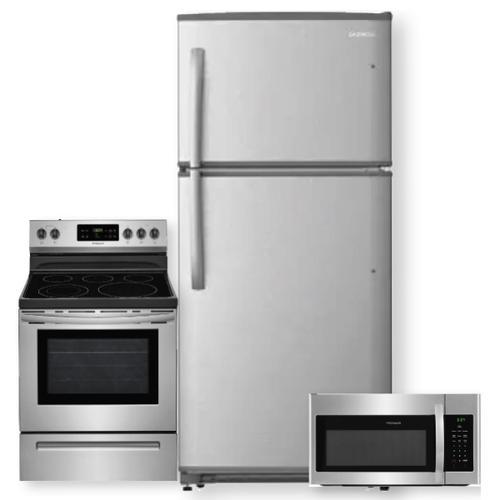 18.2 Cu. Ft. Top Freezer Refrigerator- 3 Piece Package