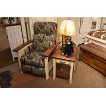 Breezy Point recliner and end table.