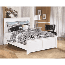 Bostwick Shoals- White- Queen Panel Bed