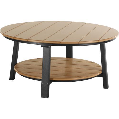 Deluxe Conversation Table Cedar and Black
