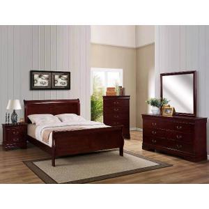 Crown Mark B3450 Louis Phillip Twin Bedroom