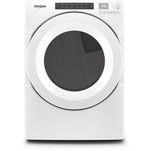 Whirlpool 7.4CF White Electric Front Load Dryer