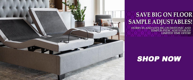 Save Big on Floor Sample Adjustable Beds!