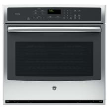 GE Profile 5.0CF Stainless Steel Electric Convection Wall Oven with Steam/Self Clean