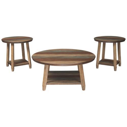 Ashley Furniture - ASHLEY T221-13 Occasional Table Set (3/CN)