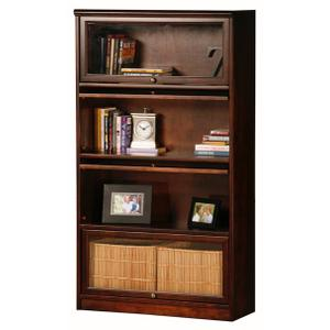Poplar Promo 4-Door Lawyer Bookcase