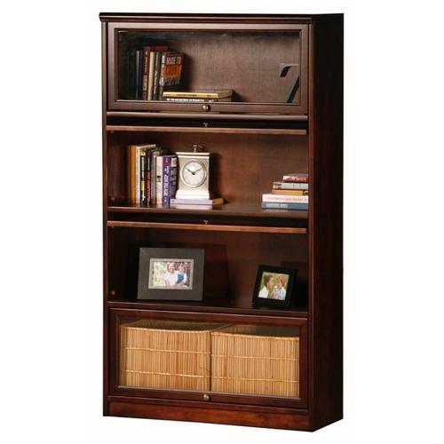 American Heartland Manufacturing - Poplar Promo 4-Door Lawyer Bookcase