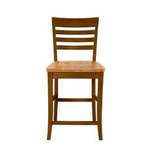 Counter height ladderback stool