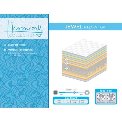 Corsicana - Jewel - Pillow Top