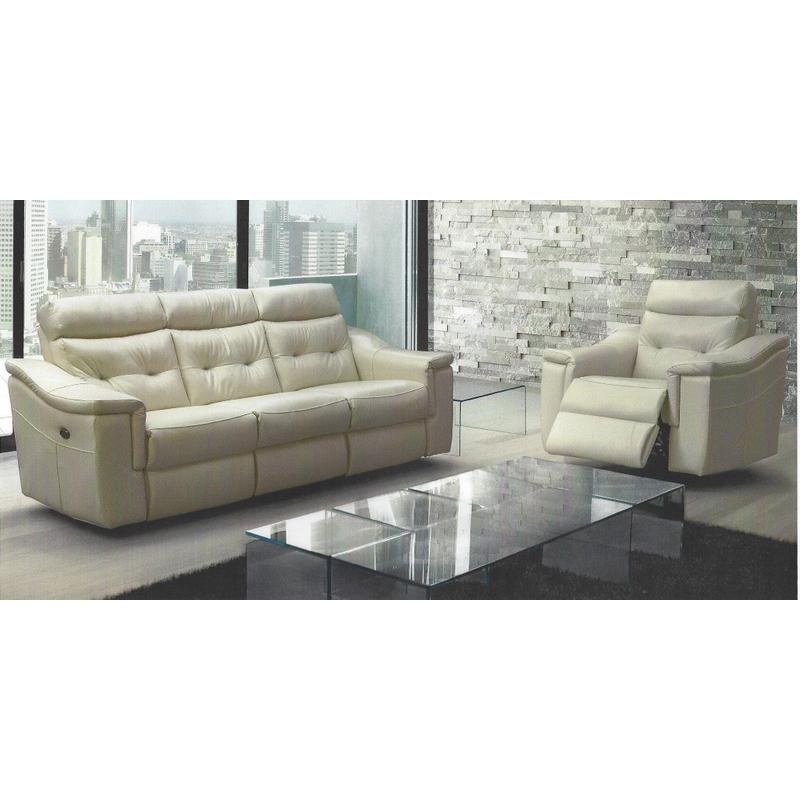 Miles Power sofa and chair. Inside pull handles