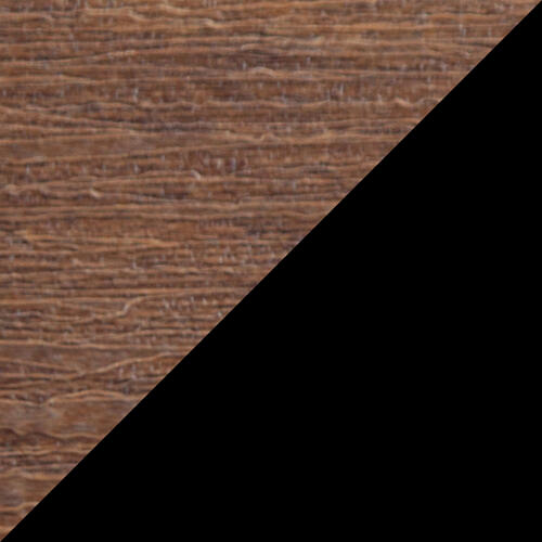Plain Glider 5' Premium Antique Mahogany and Black
