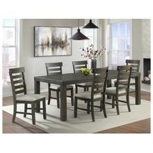 See Details - Colorado Dining Set - Table with 6 side chairs