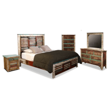 Bombay Bedroom Set with Footboard